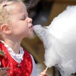 Аренда сахарной ваты с кондитером на детский праздник